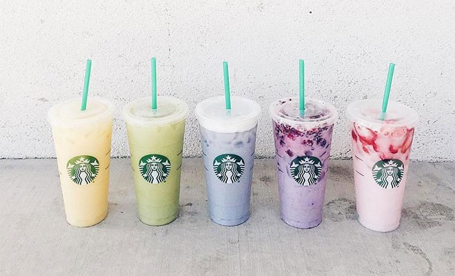 Here S How To Order All The Colorful Secret Menu Drinks At