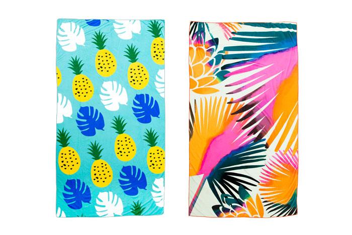 Summer Rose Beach Towel Fabfitfun