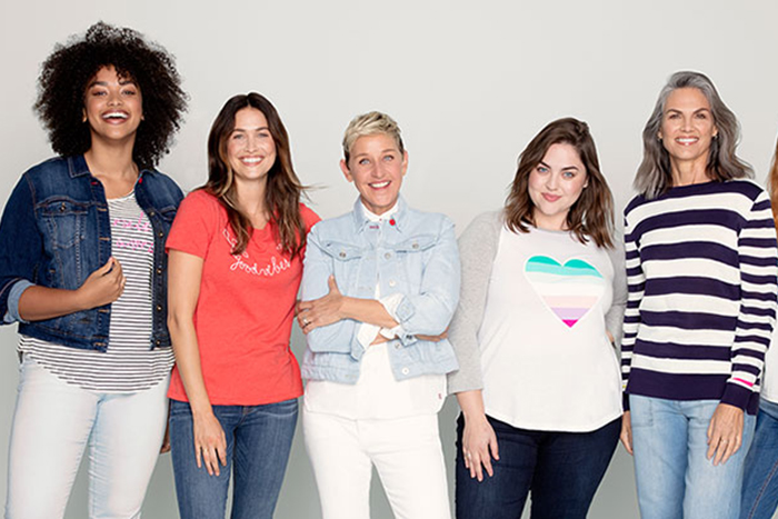 a76951cfa3 Camo, Stripes, Denim, Oh My! Ellen DeGeneres' Spring Collection Is Finally  Here