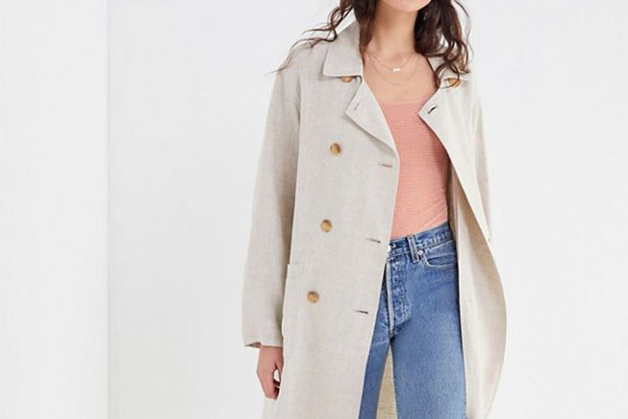 d30dd4e1caaacd Kick-Start Your Spring Wardrobe With These Lightweight Linen Coats ...