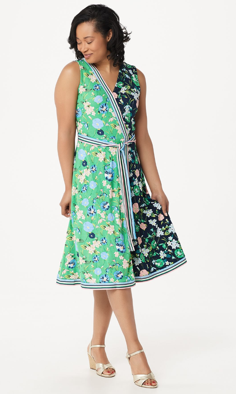 10 Wrap Dresses That Complement Plus-Size Body Types - FabFitFun