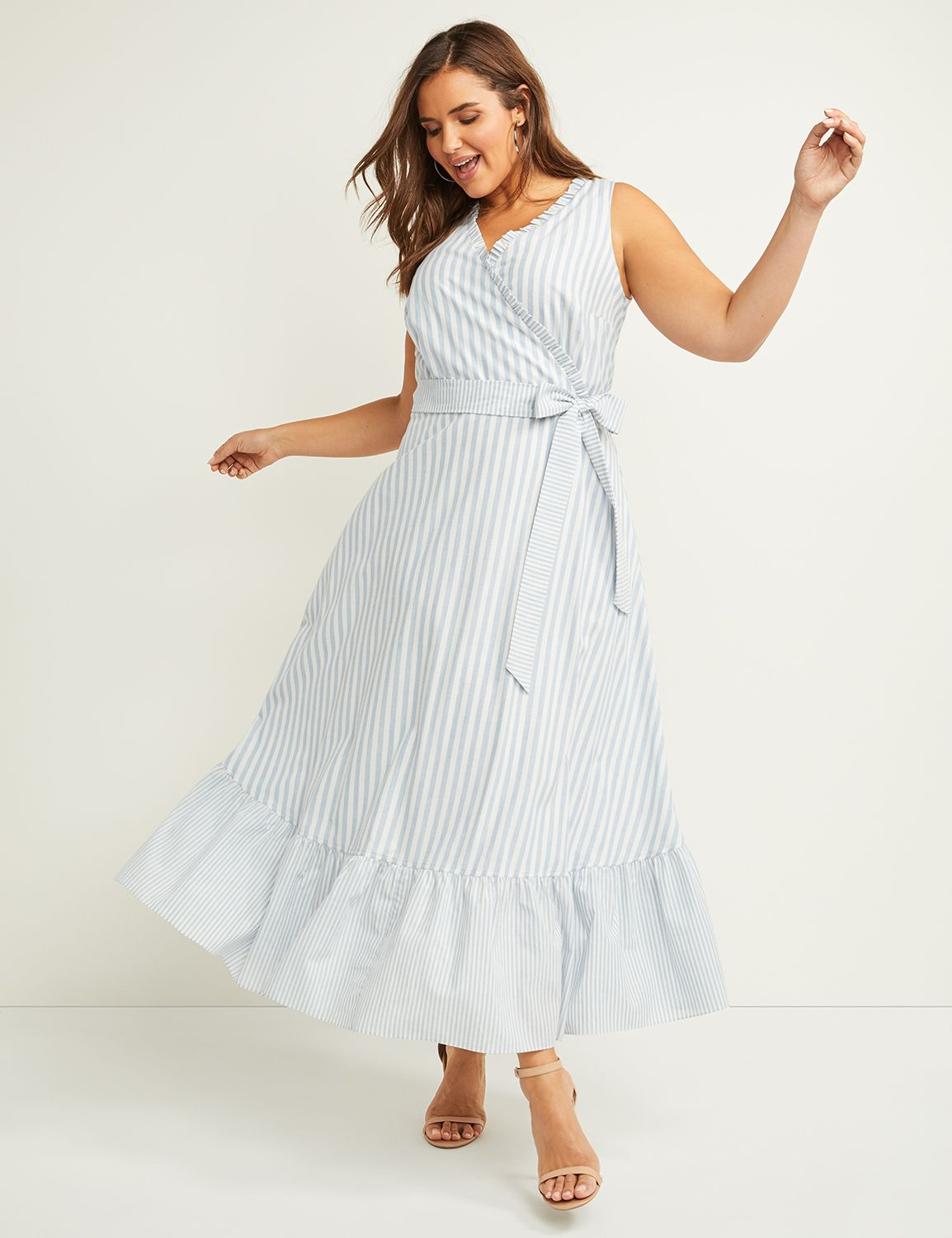 10 Wrap Dresses That Complement Plus-Size Body Types - FabFitFun