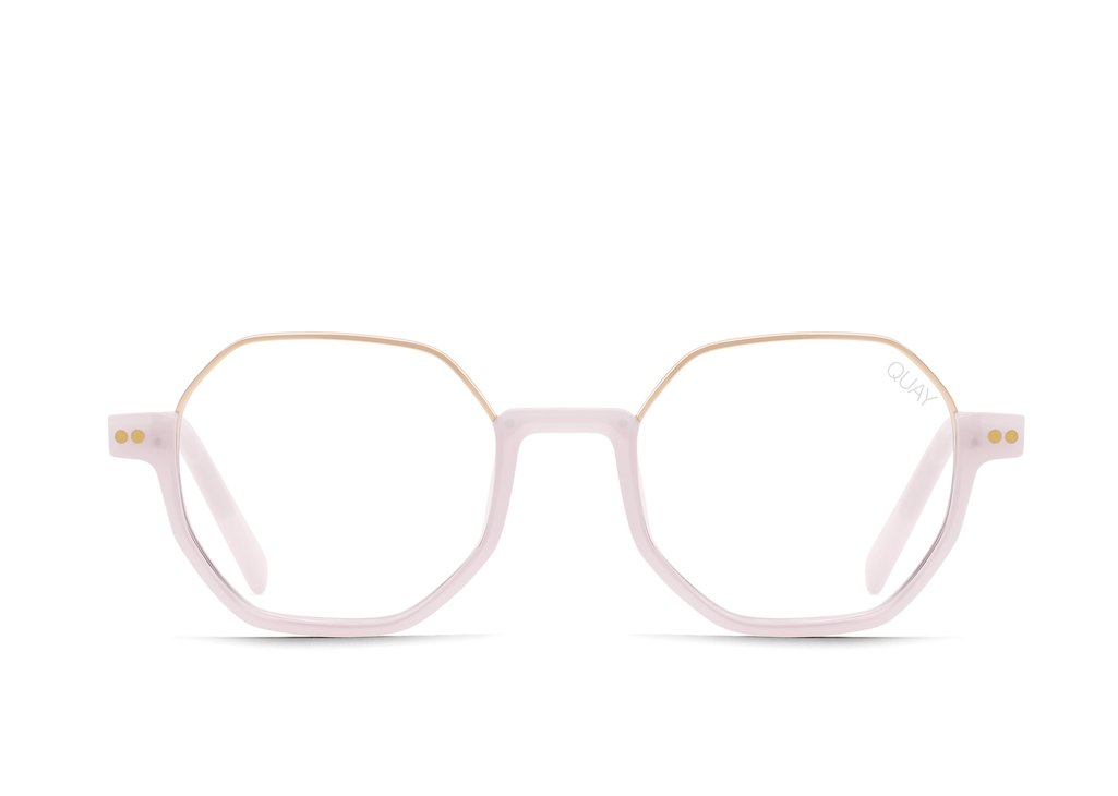 QUAY CIRCLE BACK BLUE LIGHT GLASSES