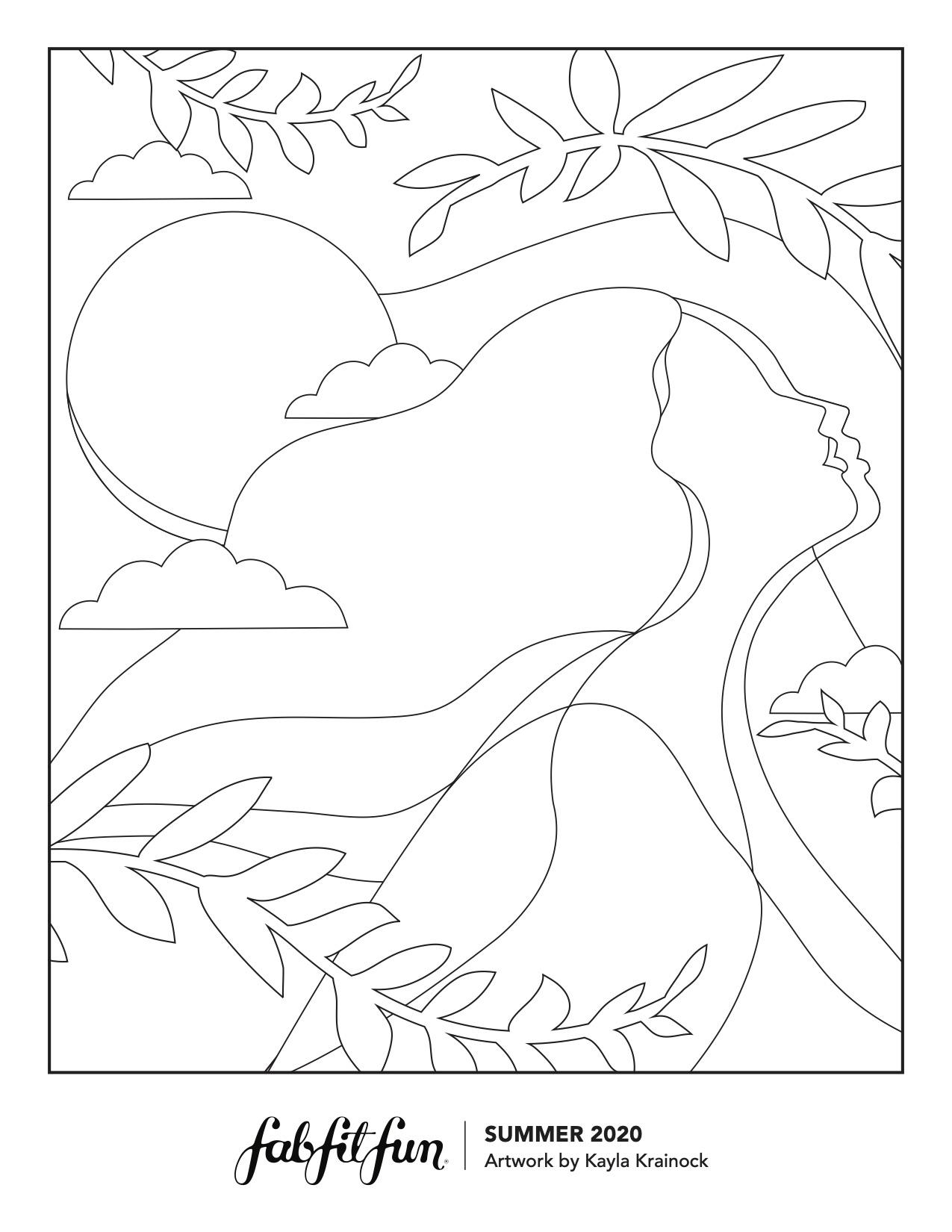 - 6 Free Coloring Sheets You Can Download - FabFitFun