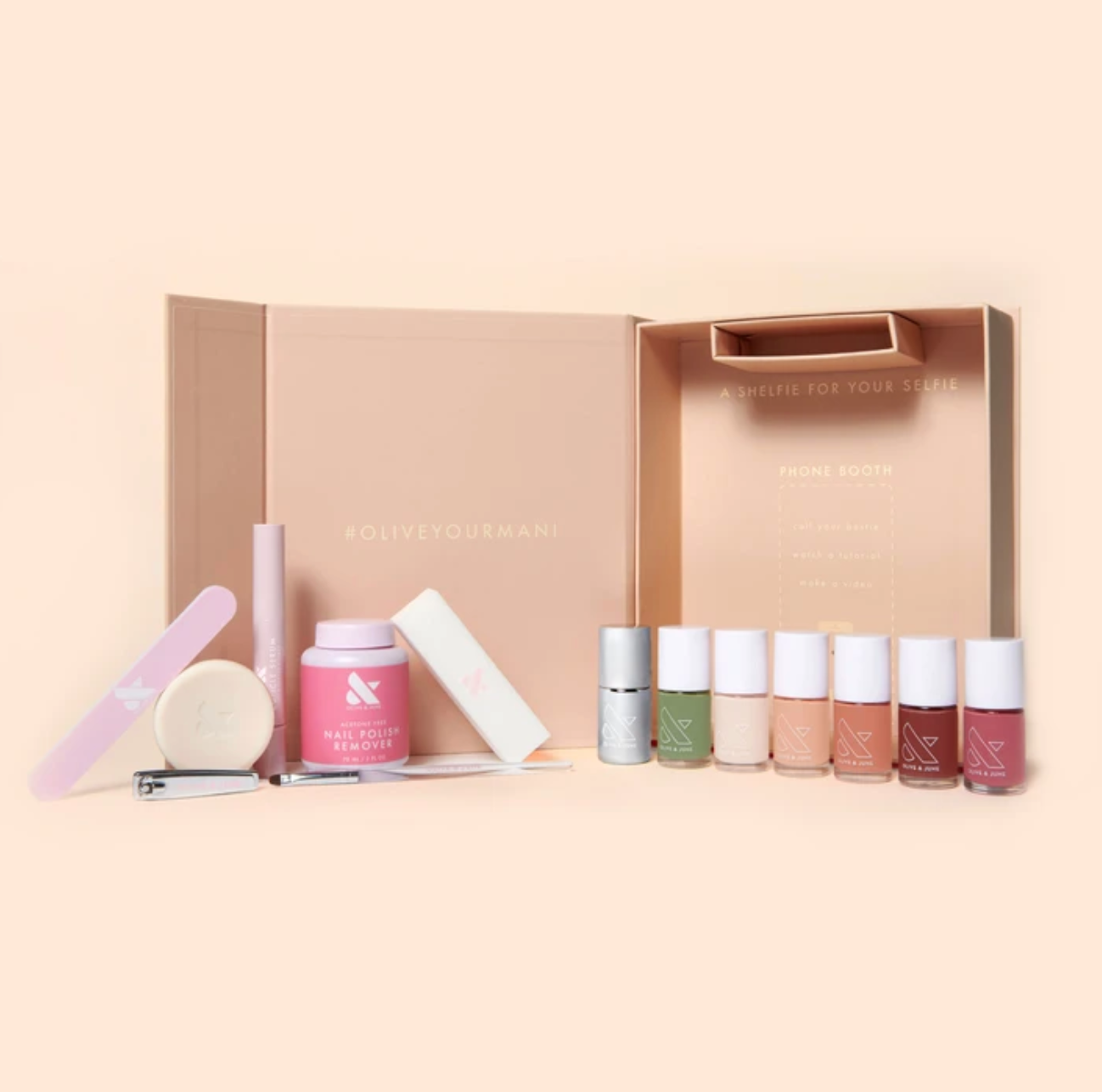 Olive & June Nailfie At-home Manicure Box