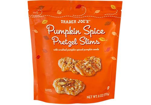 Trader Joe's Pumpkin Spice Pretzel Slims