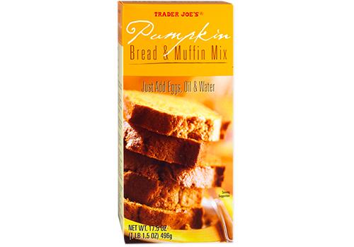 Trader Joe's Pumpkin Bread & Muffin Mix.