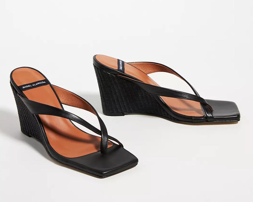 Angel Alarcon Wedge Flip-Flops