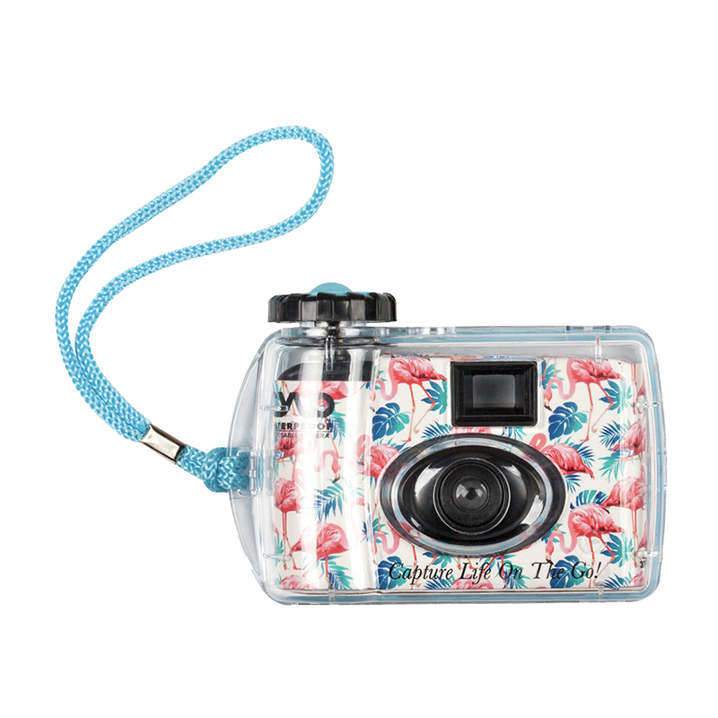 CYLO Underwater Disposable Camera Flamingo