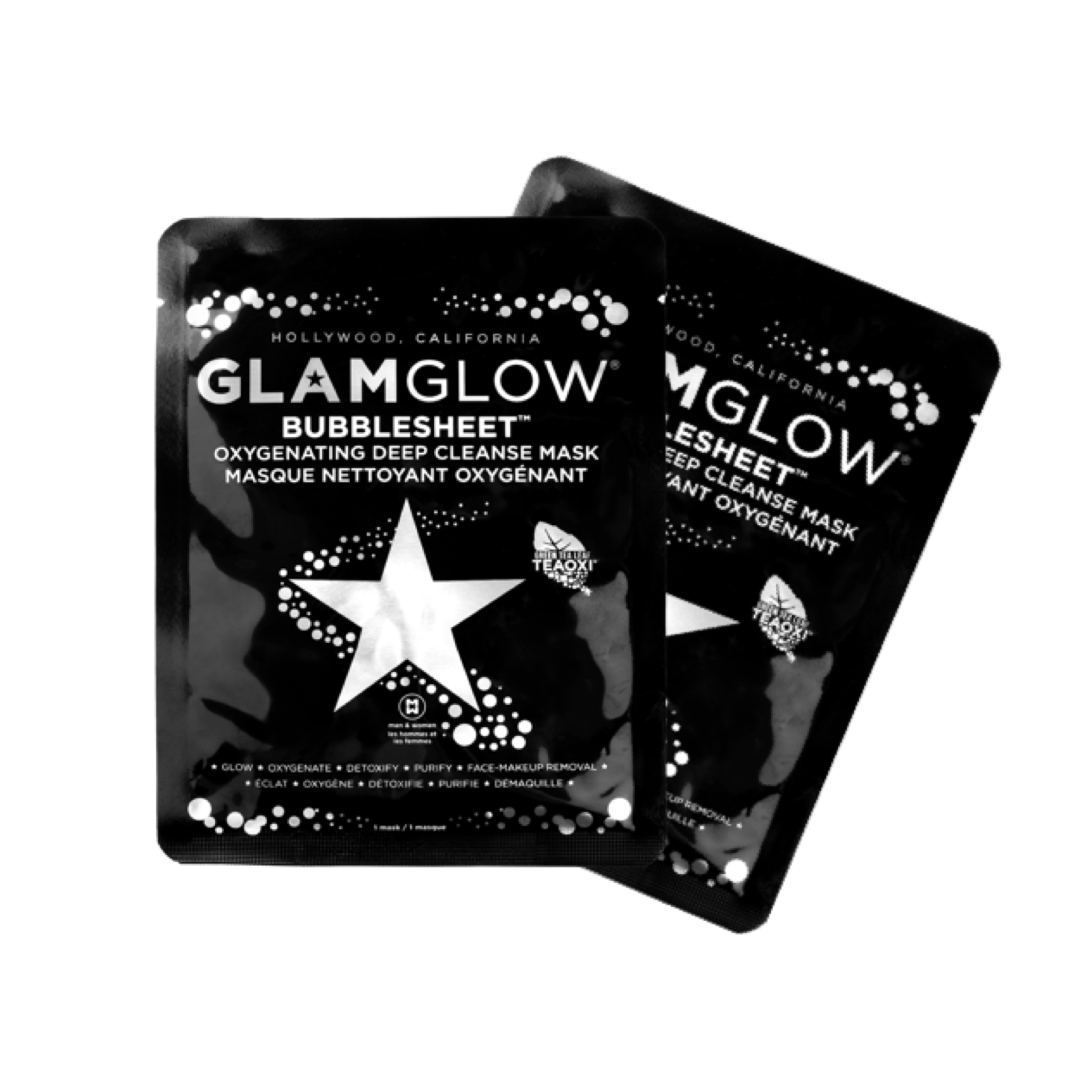 GLAMGLOW BUBBLESHEET MASKS