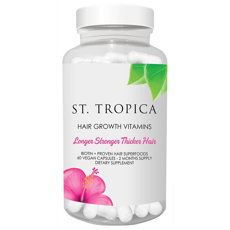 St  Tropica 2 Month Supply Hair Growth Vitamins - FabFitFun